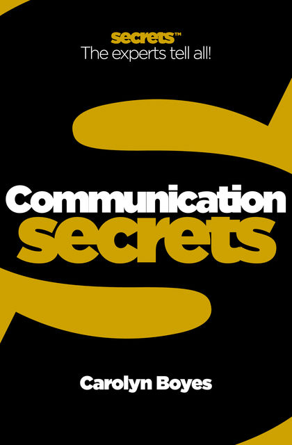 Communication (Collins Business Secrets), Carolyn Boyes