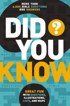 Did You Know?, Thomas Nelson
