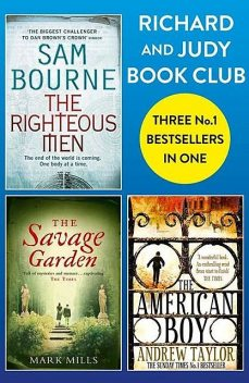 Richard and Judy Bookclub – 3 Bestsellers in 1, Andrew Taylor, Sam Bourne, Mark Mills