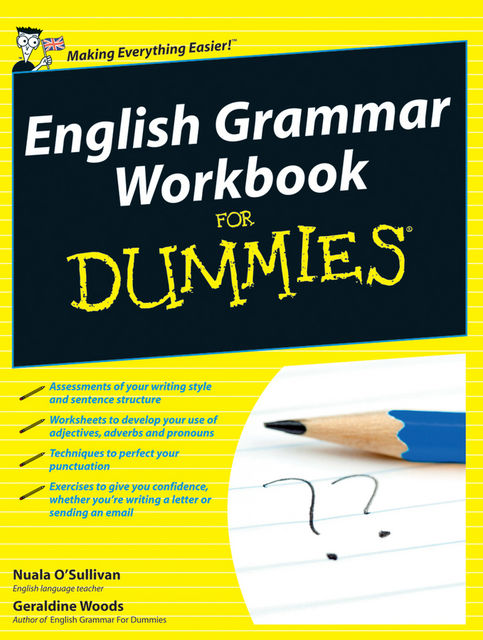 English Grammar Workbook For Dummies, Geraldine Woods