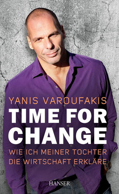 Time for change, Yanis Varoufakis