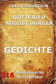 Gedichte, Gottfried August Bürger