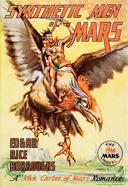 Synthetic Men of Mars, Edgar Rice Burroughs