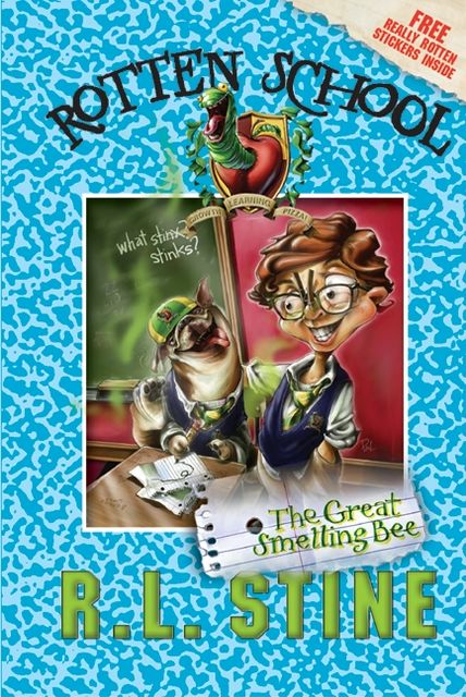Rotten School #2: The Great Smelling Bee, R.L.Stine