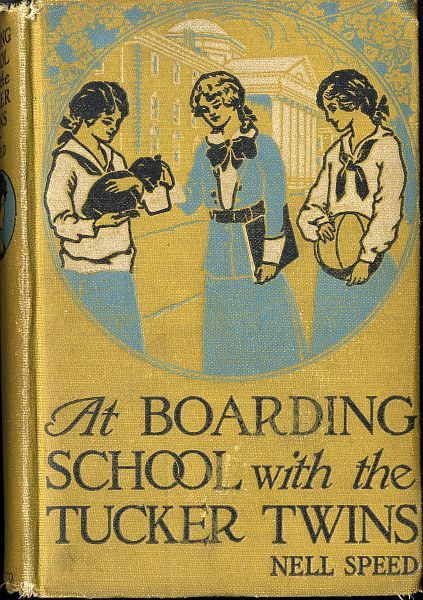 At Boarding School with the Tucker Twins, Nell Speed