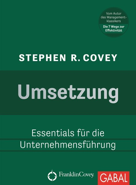 Umsetzung, Stephen Covey