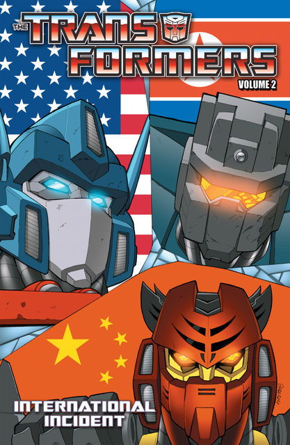 Transformers Volume 2: International Incident, Mike Costa