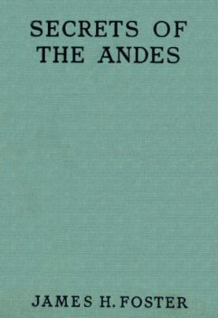 Secrets of the Andes, James Foster