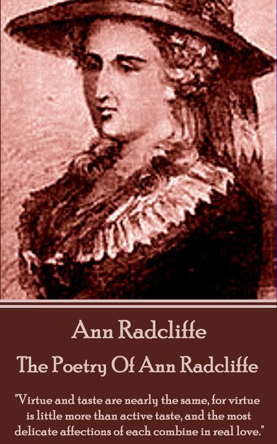 The Poetry Of Ann Radcliffe, Ann Radcliffe