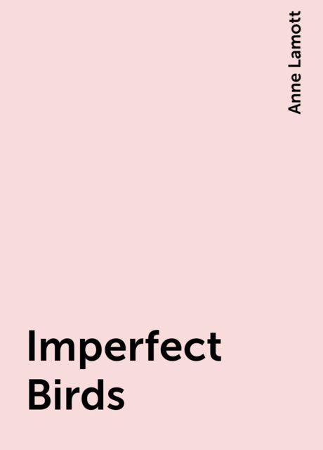 Imperfect Birds, Anne Lamott