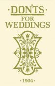 Don'ts for Weddings, Bloomsbury Publishing
