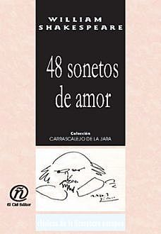48 sonetos de amor, William Shakespeare