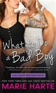 What to Do with a Bad Boy, Marie Harte