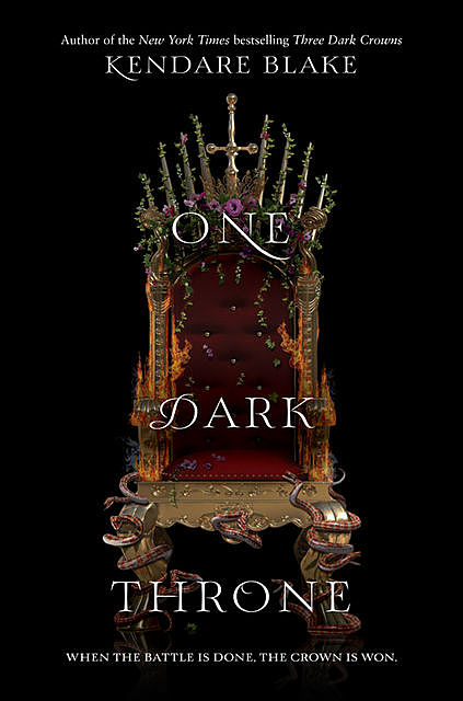 One Dark Throne, Kendare Blake