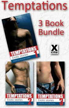 Temptations – Three Book Bundle, Lucy Felthouse, Shanna Germain, Elizabeth Cage, Primula Bond, Kristina Wright, Sommer Marsden, Beverly Langland, Jeremy Edwards, Kitti Bernetti, Landon Dixon