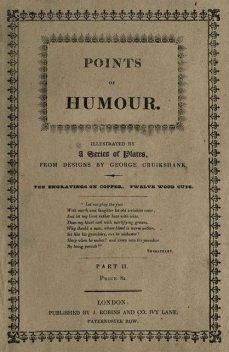 Points of Humour, Part 2 (of 2), George Cruikshank