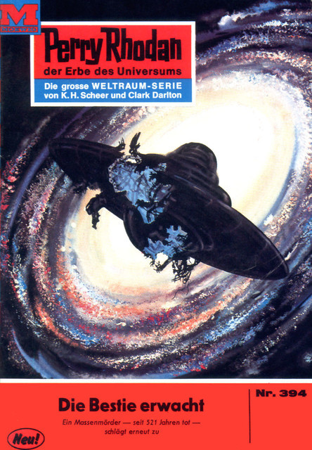 Perry Rhodan 394: Die Bestie erwacht, William Voltz