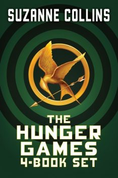 The Hunger Games 4-Book Set, Suzanne Collins