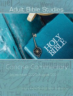 Adult Bible Studies Concise Commentary September 2020-August 2021, Abingdon Press