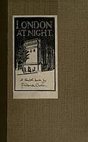 London at Night: A sketch-book, Frederick Carter