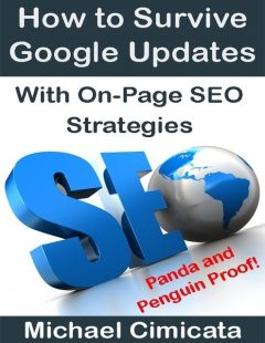 How to Survive Google Updates With On-Page SEO Strategies (Panda and Penguin Proof), Michael Cimicata