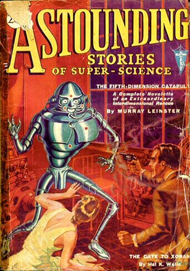 Astounding Stories of Super-Science January 1931, Various