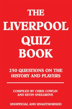 Liverpool Quiz Book, Chris Cowlin