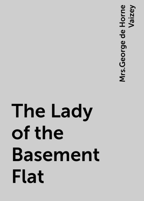 The Lady of the Basement Flat,