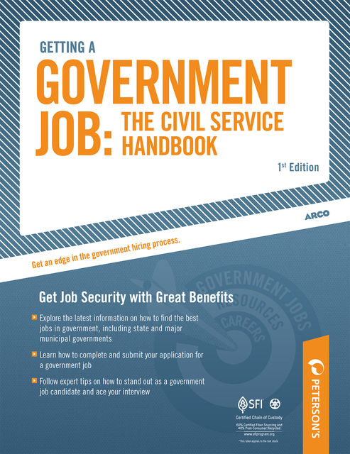 Getting a Government Job: The Civil Service Handbook, Peterson's