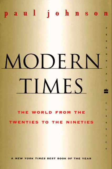 Modern Times, Paul Johnson