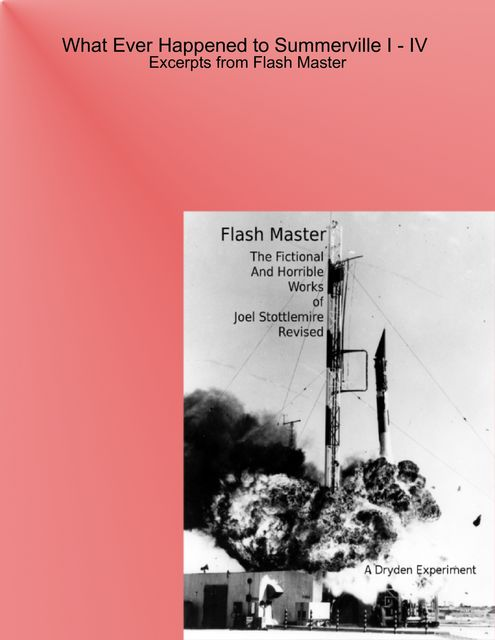 What Ever Happened to Summerville I-IV: Excerpts From Flash Master, Joel Stottlemire