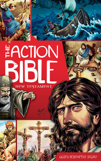 The Action Bible New Testament, Sergio Cariello