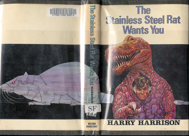 The Stainless Steel Rat Wants You, Harry Harrison