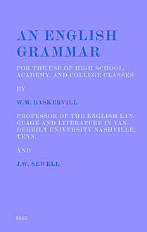 An English Grammar, James Witt Sewell