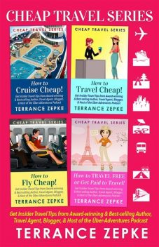 Cheap Travel Series (4 in 1) Box Set, Terrance Zepke