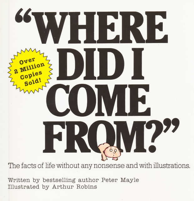 """Where Did I Come From?"", Peter Mayle"