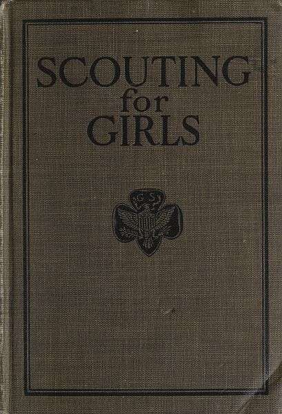 Scouting For Girls, Official Handbook of the Girl Scouts, Girl Scouts of the United States of America