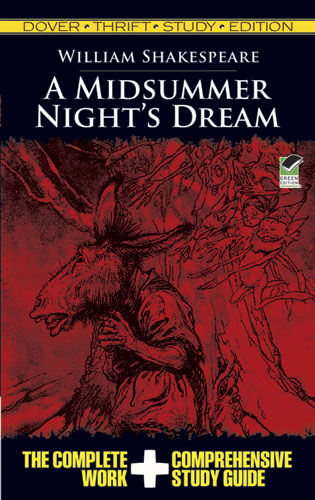 A Midsummer Night's Dream Thrift Study Edition, William Shakespeare