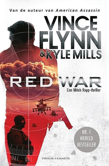 Red war, Vince Flynn, Kyle Mills