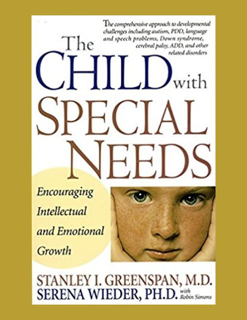 The child with special needs, Stanley Greenspan