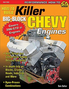 How to Build Killer Big-Block Chevy Engines, Tom Dufur