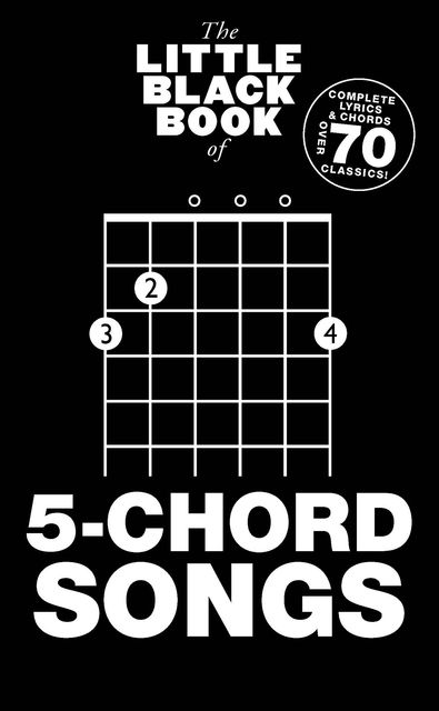 The Little Black Book of 5-Chord Songs, Wise Publications
