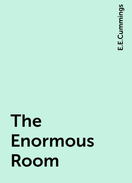 The Enormous Room, E.E.Cummings