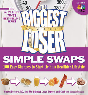 The Biggest Loser Simple Swaps, Cheryl Forberg, Melissa Roberson, The Cast