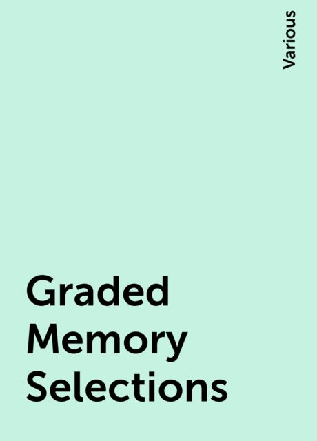 Graded Memory Selections, Various