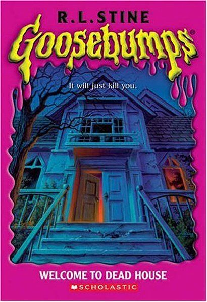 Goosebumps  01 - Welcome to Dead House, R.L.Stine