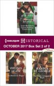 Harlequin Historical October 2017 – Box Set 2 of 2, Harlequin, Virginia Heath