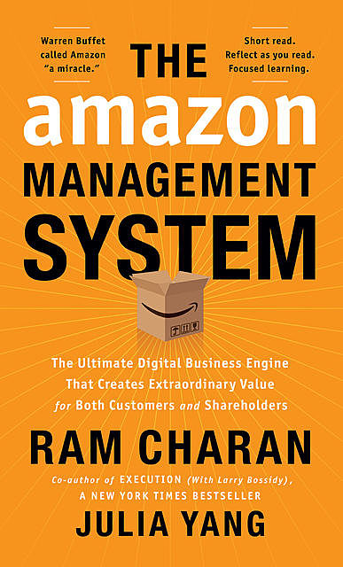 The Amazon Management System, Ram Charan, Julia Yang