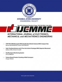 International Journal of Electronics, Mechanical and Mechatronics Engineering, IAU INTERNATIONAL