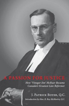 A Passion for Justice, J.Patrick Boyer
